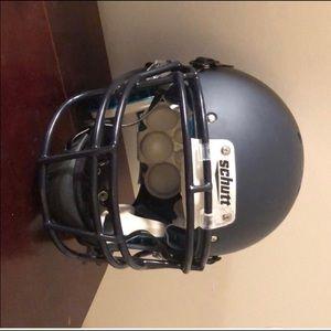 Shutt football helmet